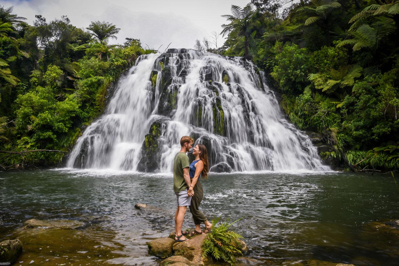 New Zealand Budget Travel Tips Owharoa Falls