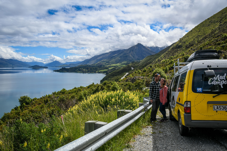 Planning a Campervan Trip in New Zealand Bennett Bluff Glenorchy