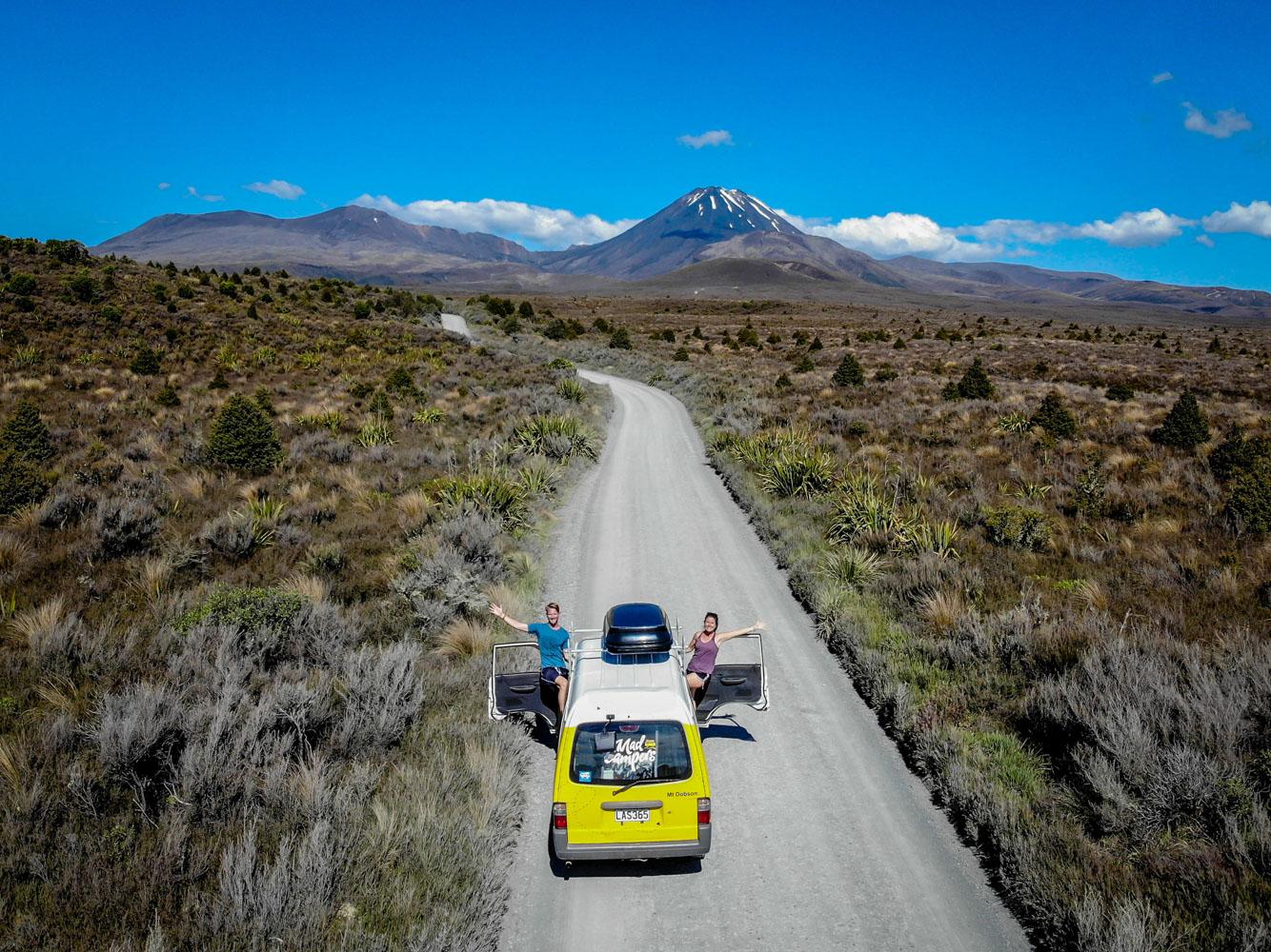 Planning a Campervan Trip to New Zealand Campervan Mount Tongariro