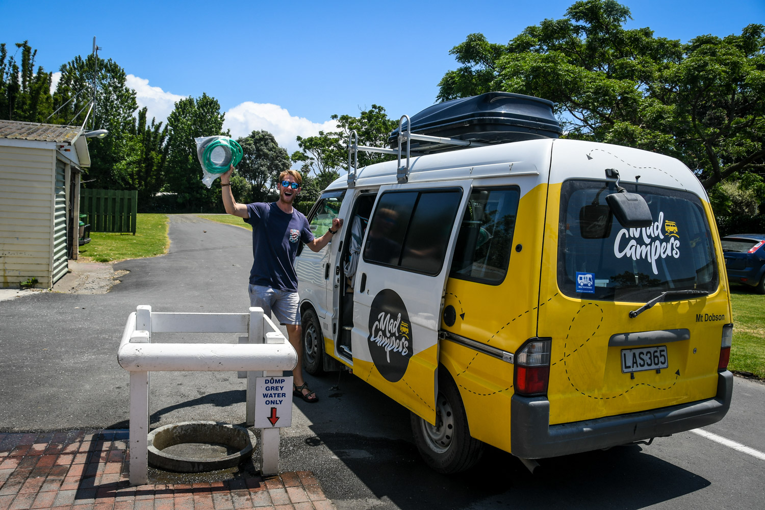 Planning a Campervan Trip to New Zealand Campervan Dump Station Water Fill Up