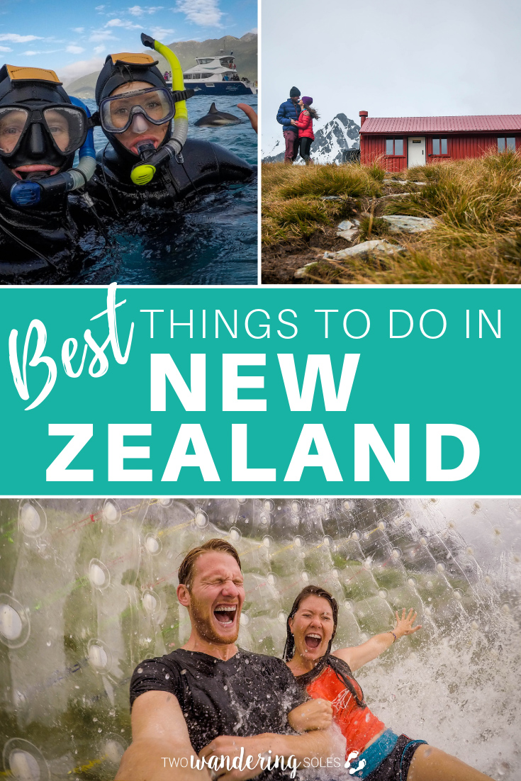 The Best Things to Do in New Zealand: From the North Isaland to the South Island, Auckland to Queenstown, we're sharing the top things to do in this amazing country!