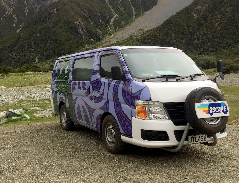 Campervan Rental in New Zealand Escape Campervan