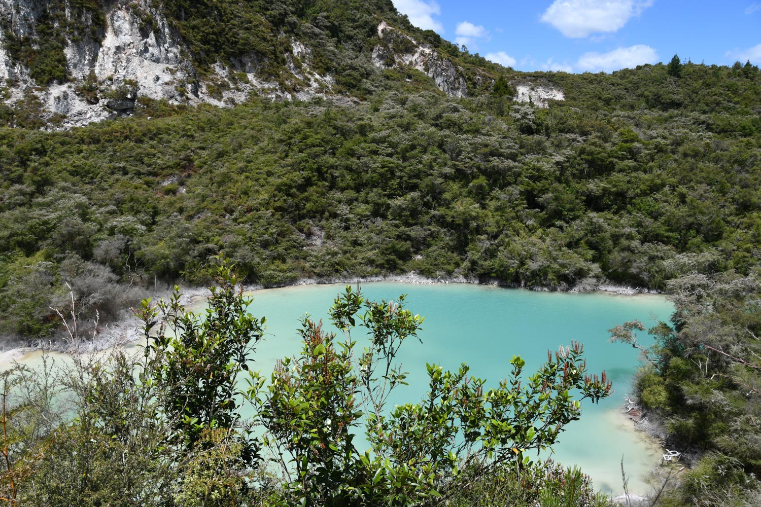 North Island New Zealand Itinerary Rainbow Mountain Crater