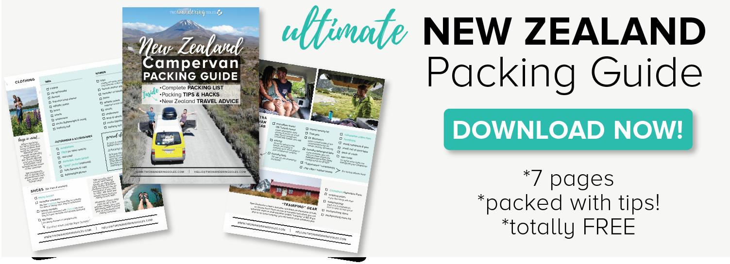 New Zealand Packing List