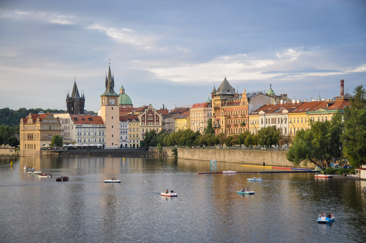 Things to do in Prague Row Boat