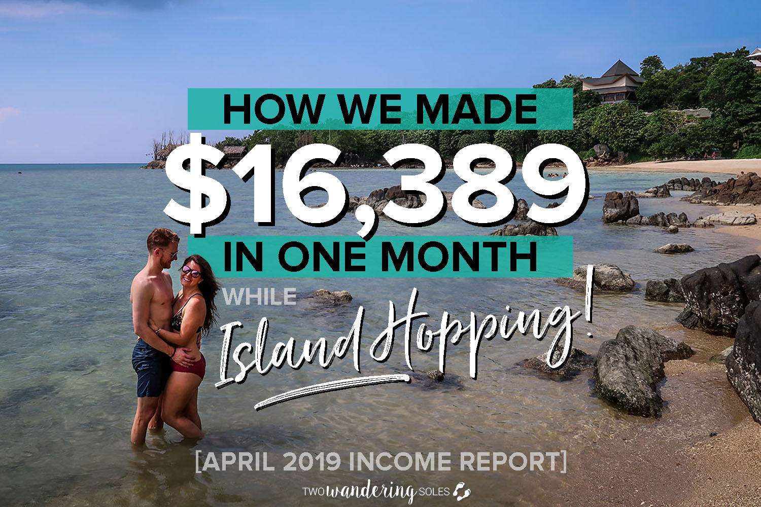Travel Blog Income Reprot