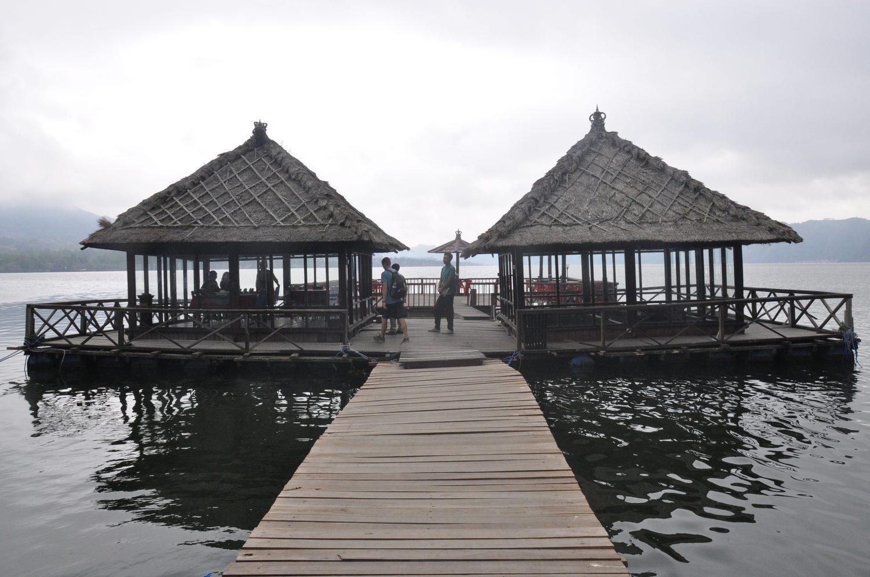 Floating Restaurant Mount Batur Bali