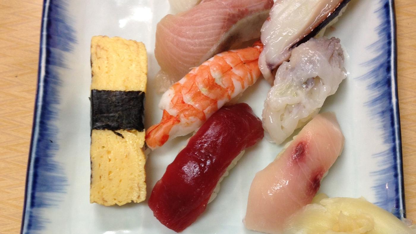 Sushi Japan Tuskiji Fish Market