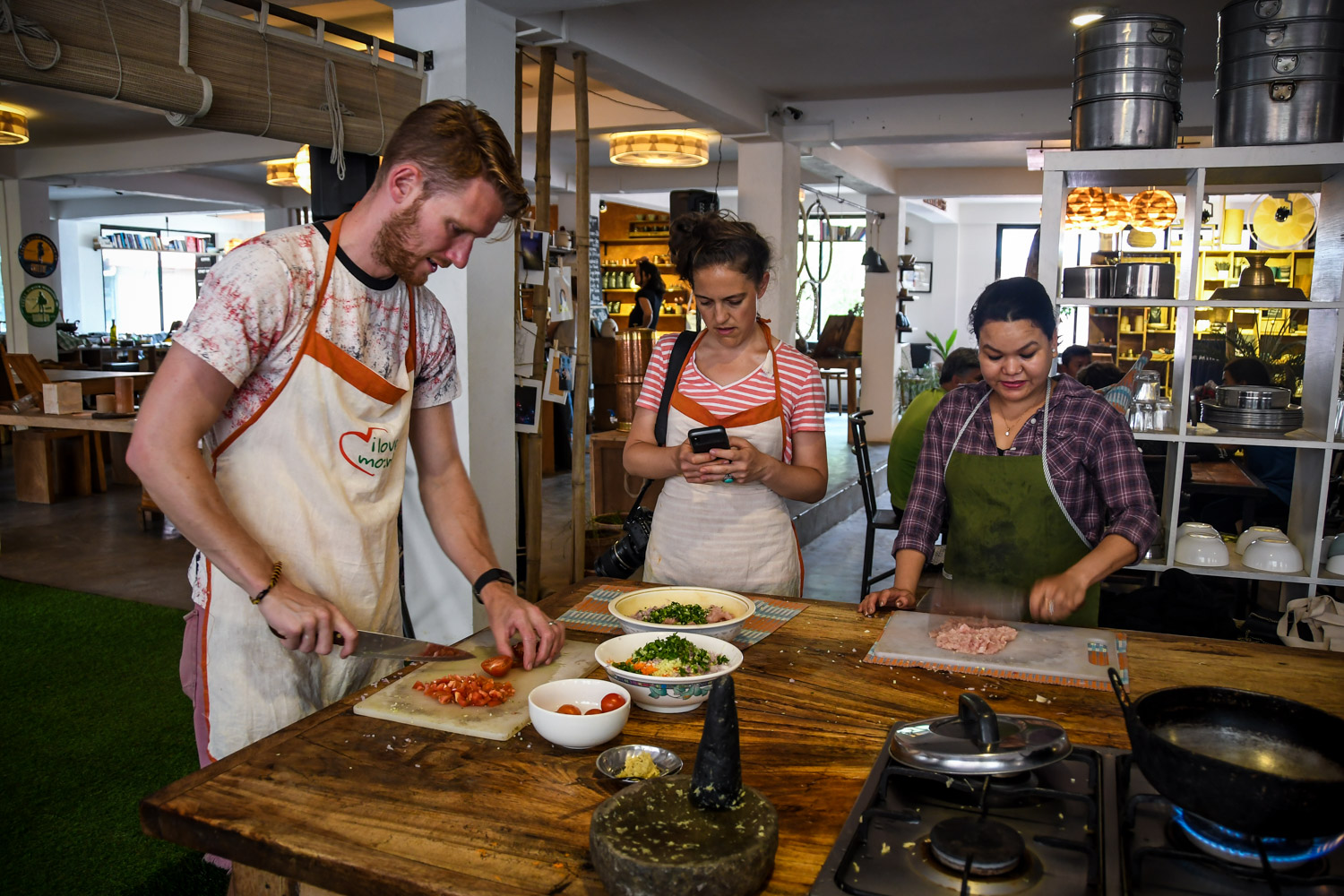 Things to Do in Nepal Cooking Class Momo Social Tours Ben