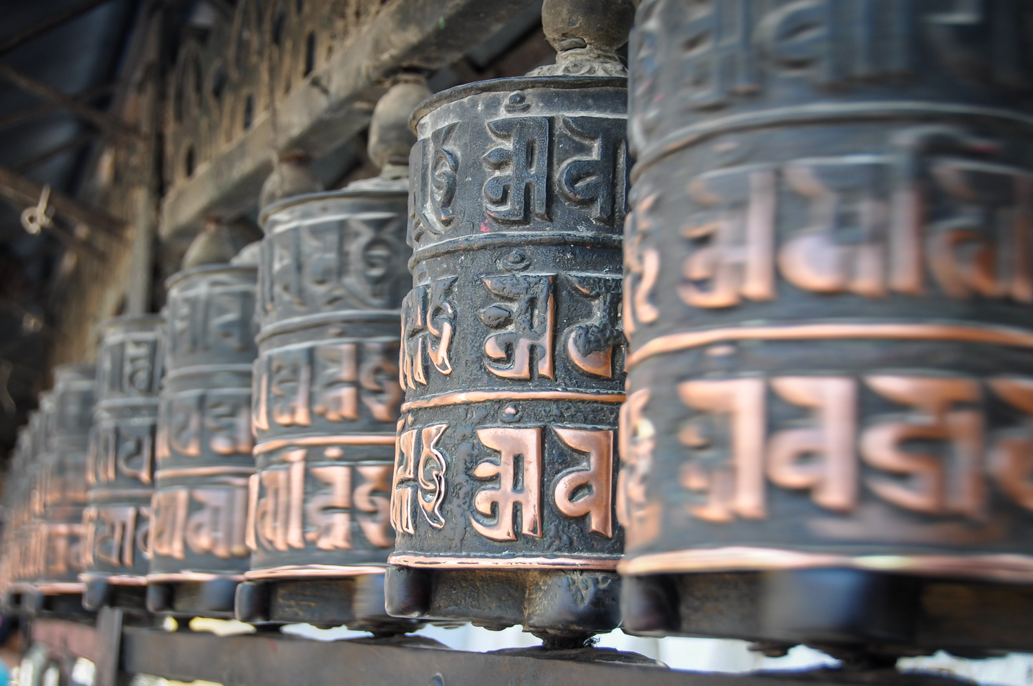Things to Do in Nepal Prayer Wheels