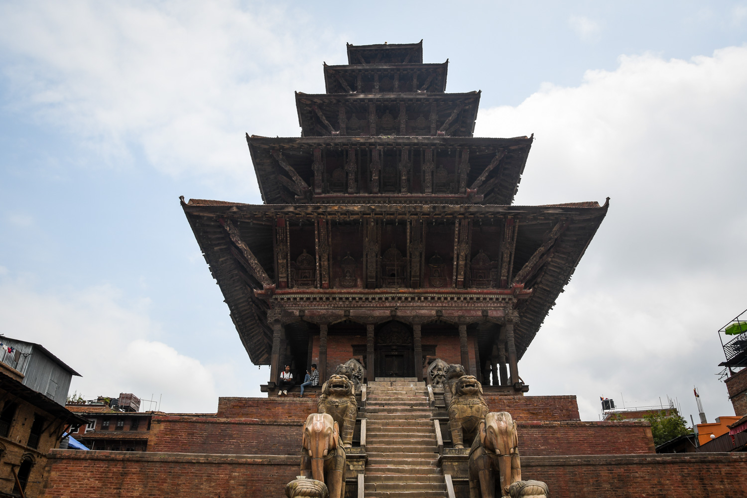 Things to Do in Nepal Bhaktapur Durbar Square 5 tier Temple