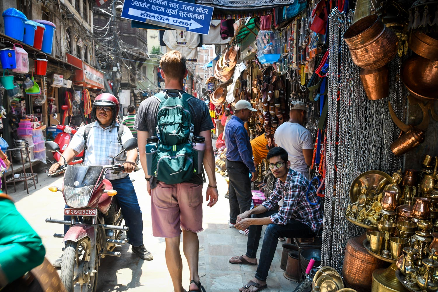 Things to Do in Nepal Shopping markets Street