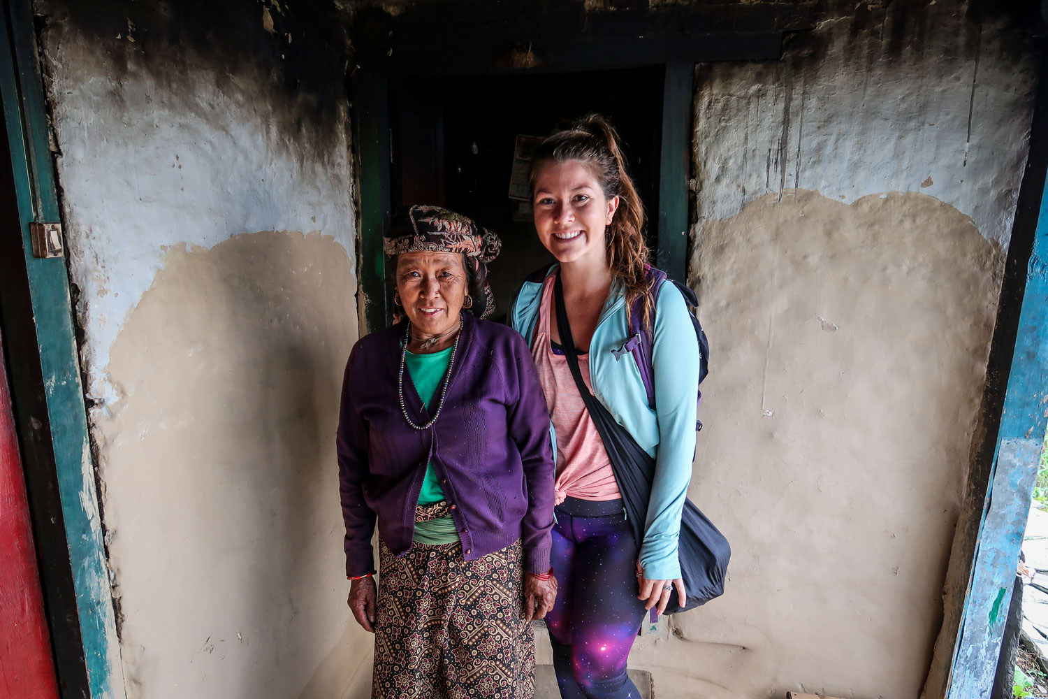 Nepal Travel Guide Homestay Mother in Tikot