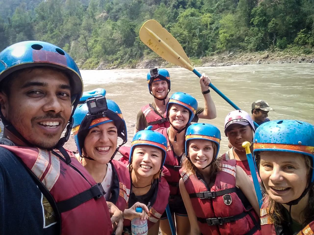 Things to do in Nepal Whitewater Rafting