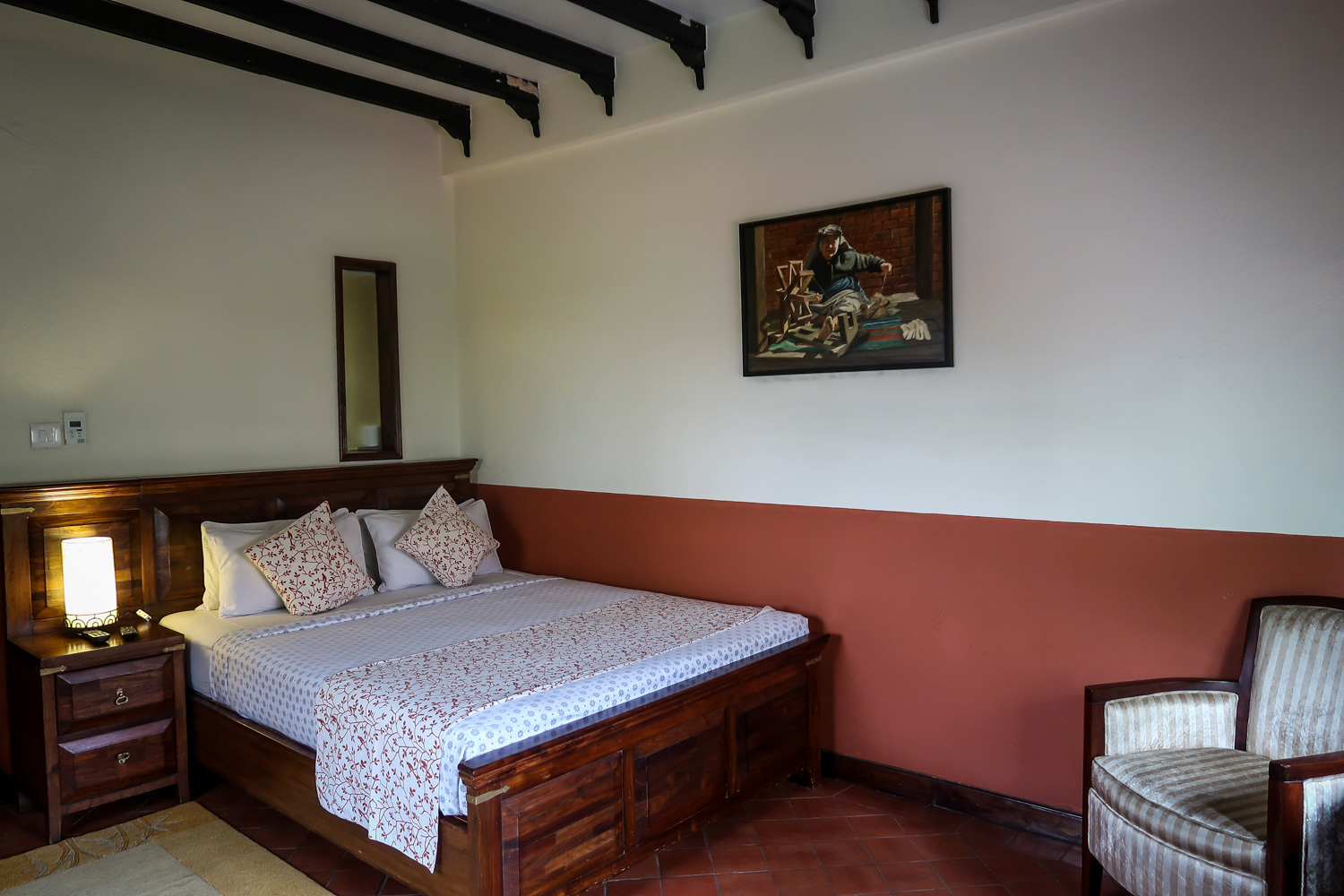 Accommodation in Nepal Traditional Comfort Hotel Kathmandu