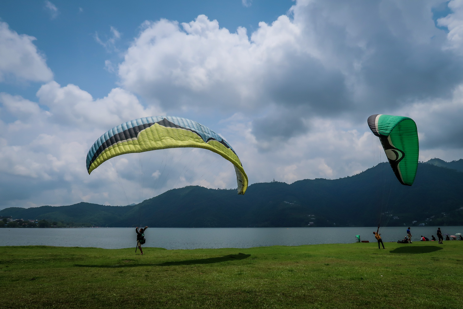 Things to do in Nepal Paragliding Pokhara