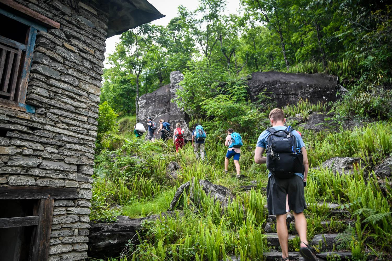 Mohare Danda Trek Uphill Climb Day 1