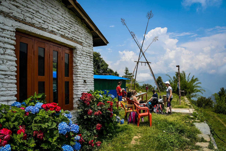 Mohare Danda Trek Outdoor Lunch