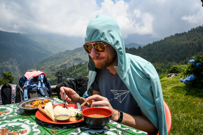 Mohare Danda Trek Lunch Shade