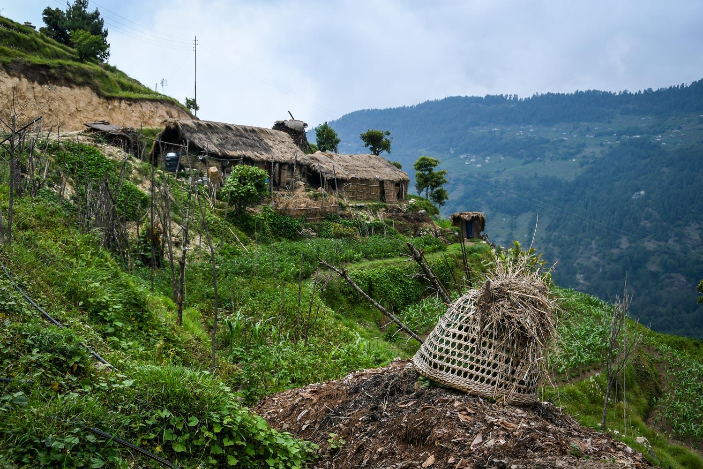Mohare Danda Trek Villages Farm