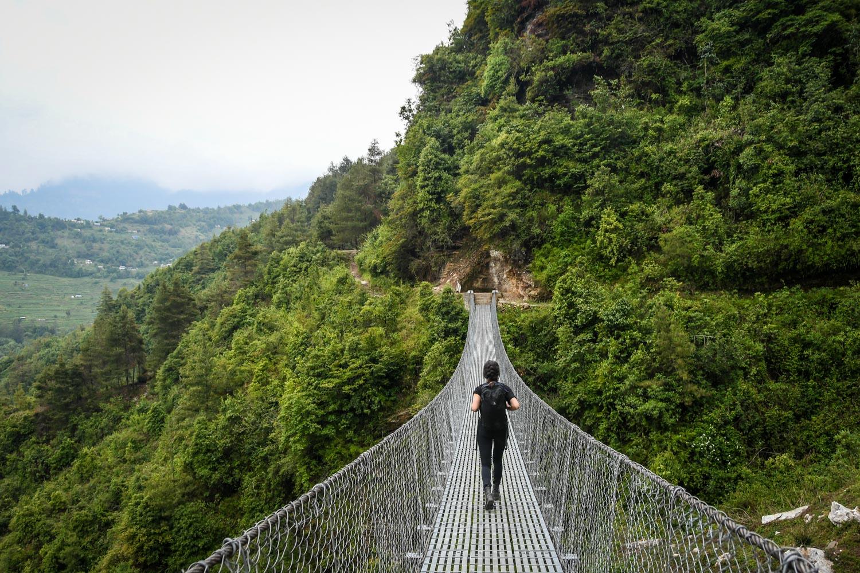 Mohare Danda Trek Suspension Bridges