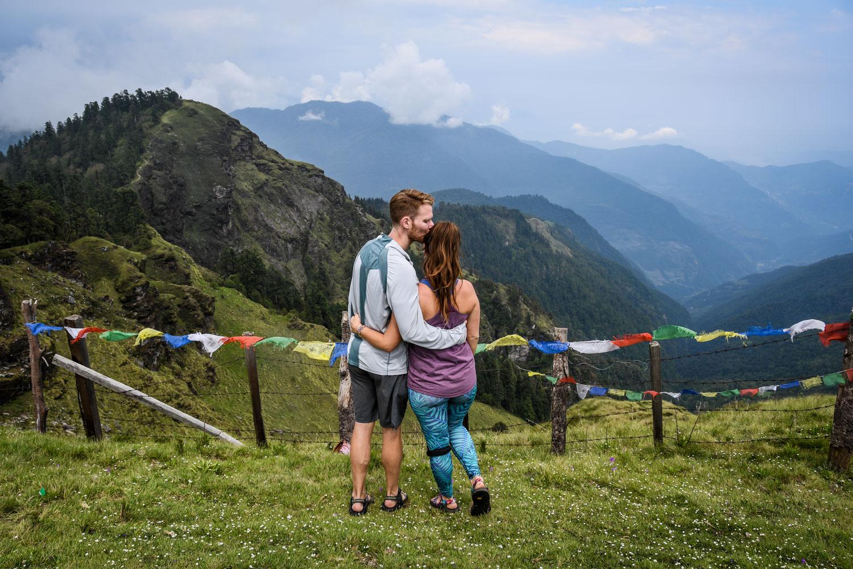 Mohare Danda Trek Hiking on Trail