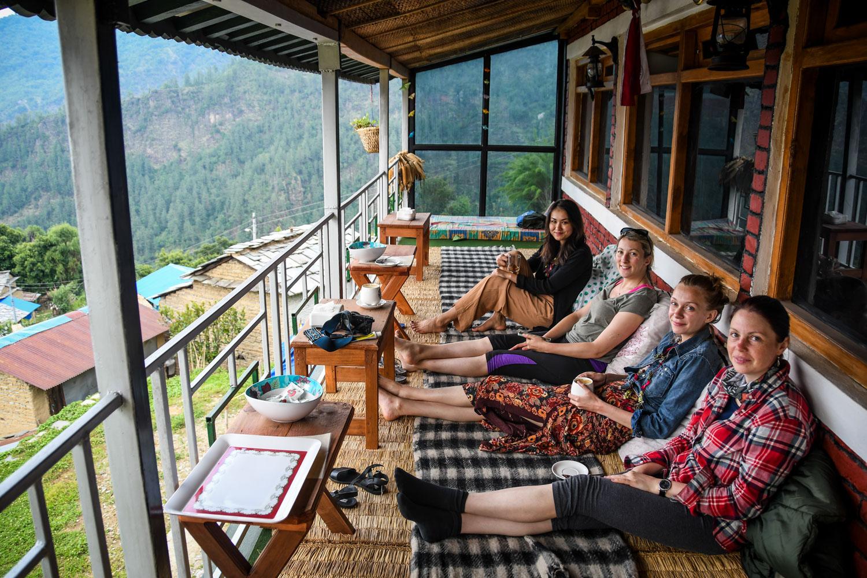 Mohare Danda Trek Lantern House Cafe
