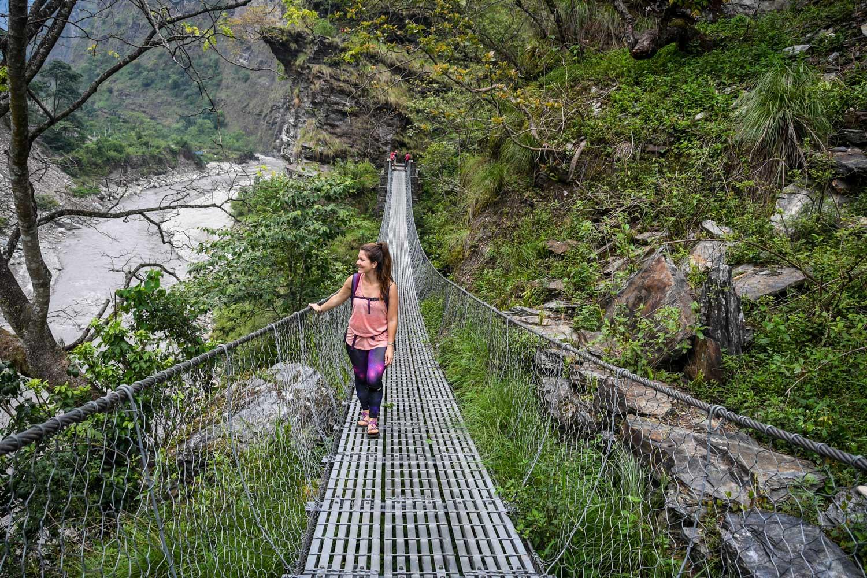 Mohare Danda Trek Suspension Bridge
