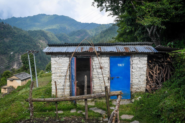 Mohare Danda Trek Toilet on Trail Homestay