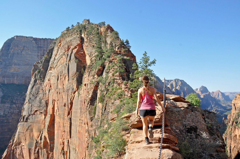 Road Trips USA Utah's National Parks Angels Landing