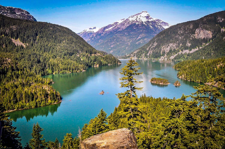 Road Trip USA Washington State Lake Diablo