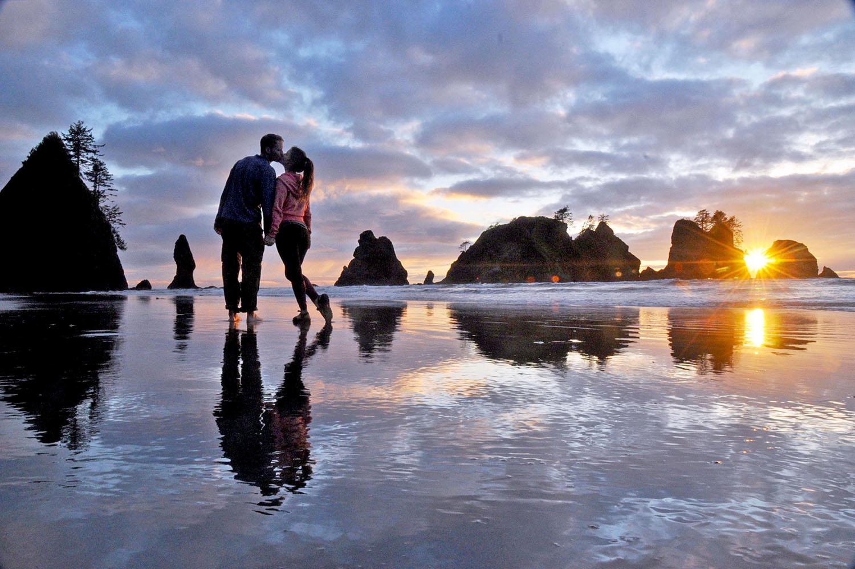 Road Trip USA Oregon Shi Shi Beach