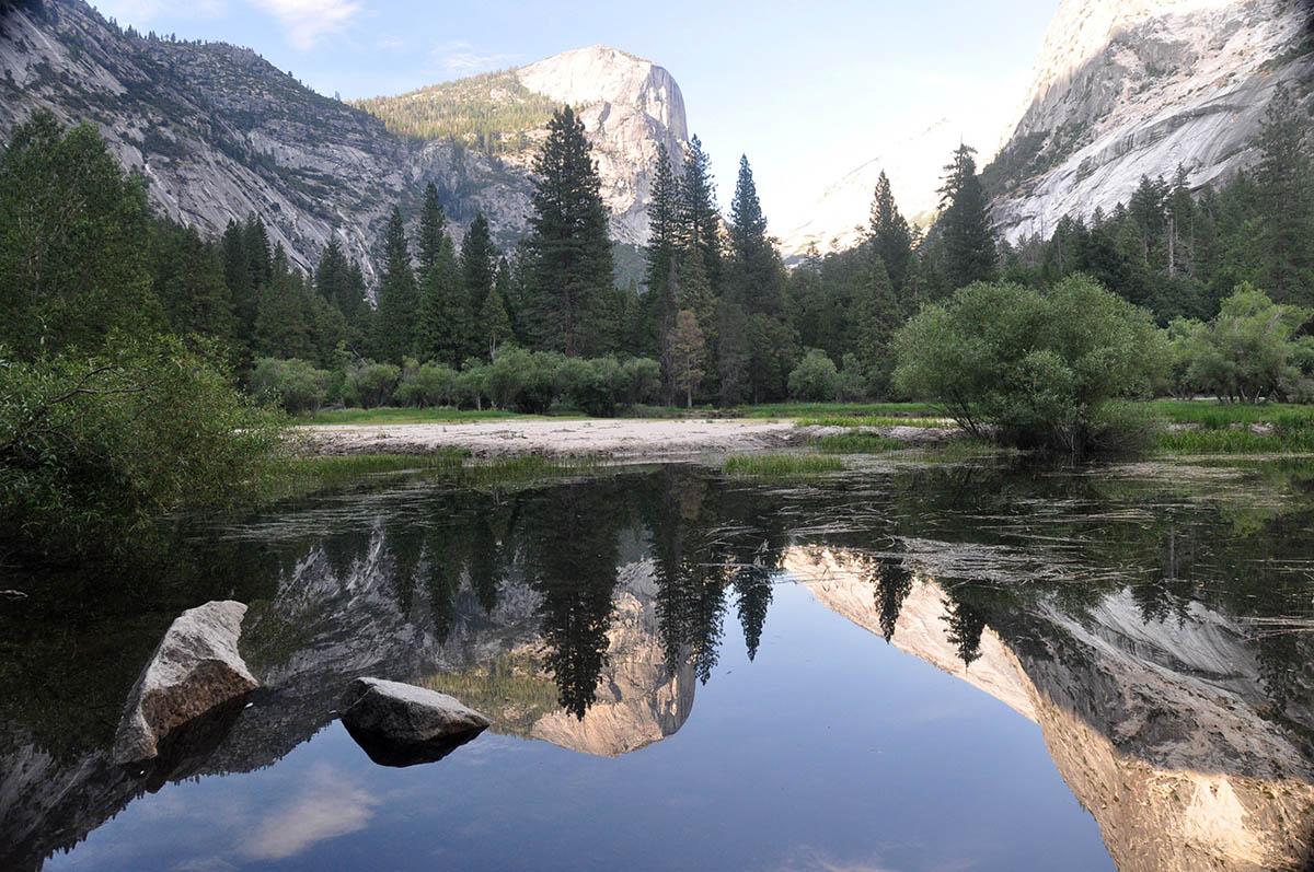 Road Trip USA Yosemite National Park Mirror Lake