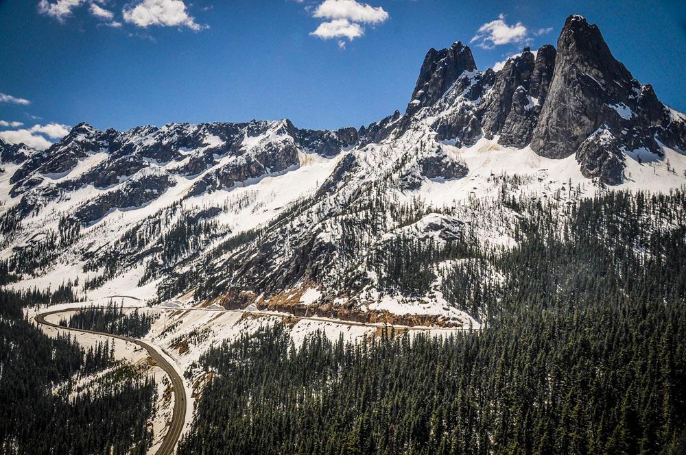 USA Road Trip Washington Pass Liberty Bell