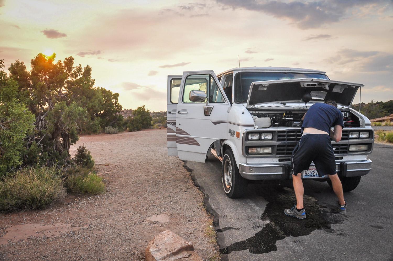 Road Trip Planner Campervan