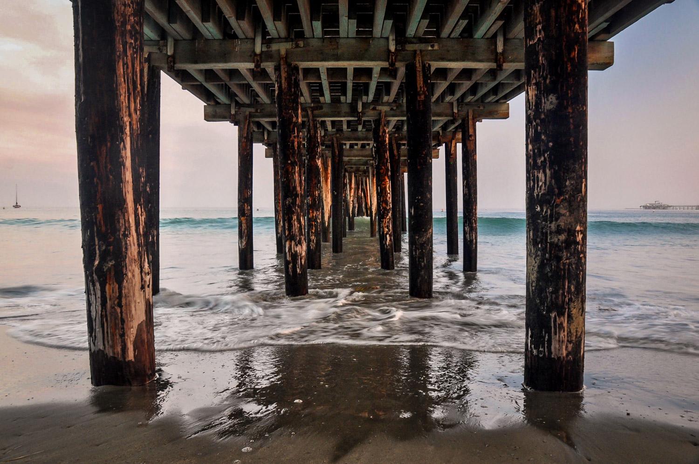 Road Trip Planner California Pier