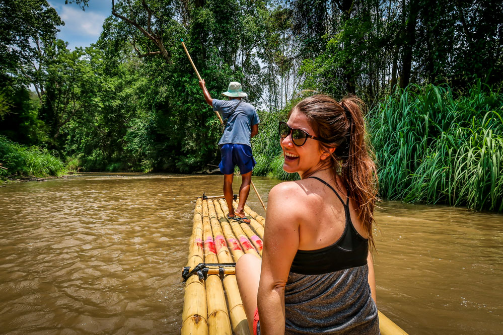 Travel Blog Income Report May 2019 Bamboo Rafting