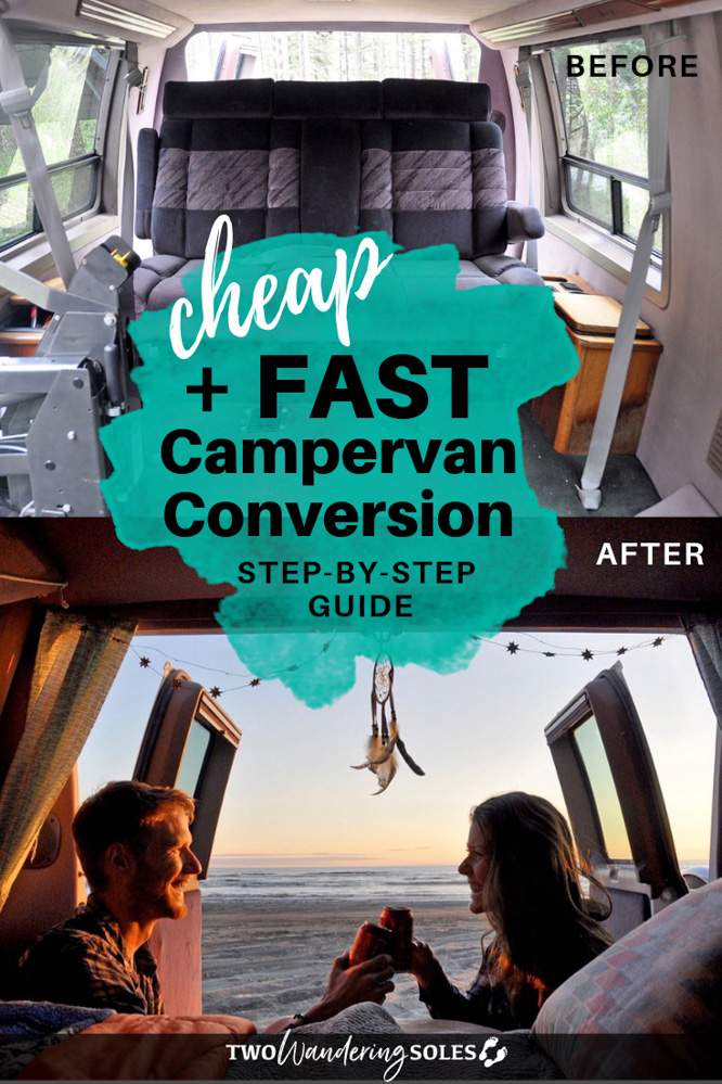 DIY Campervan Conversion on a Tiny Budget in Less than One Week