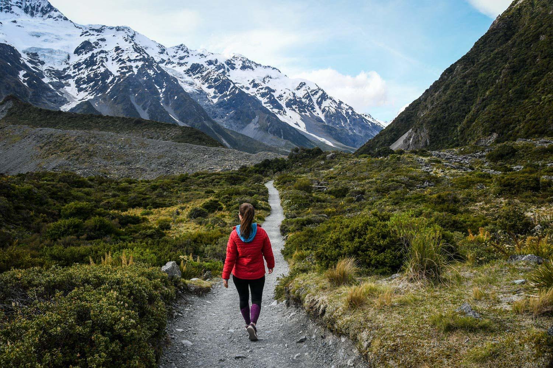 New Zealand Mount Cook National Park