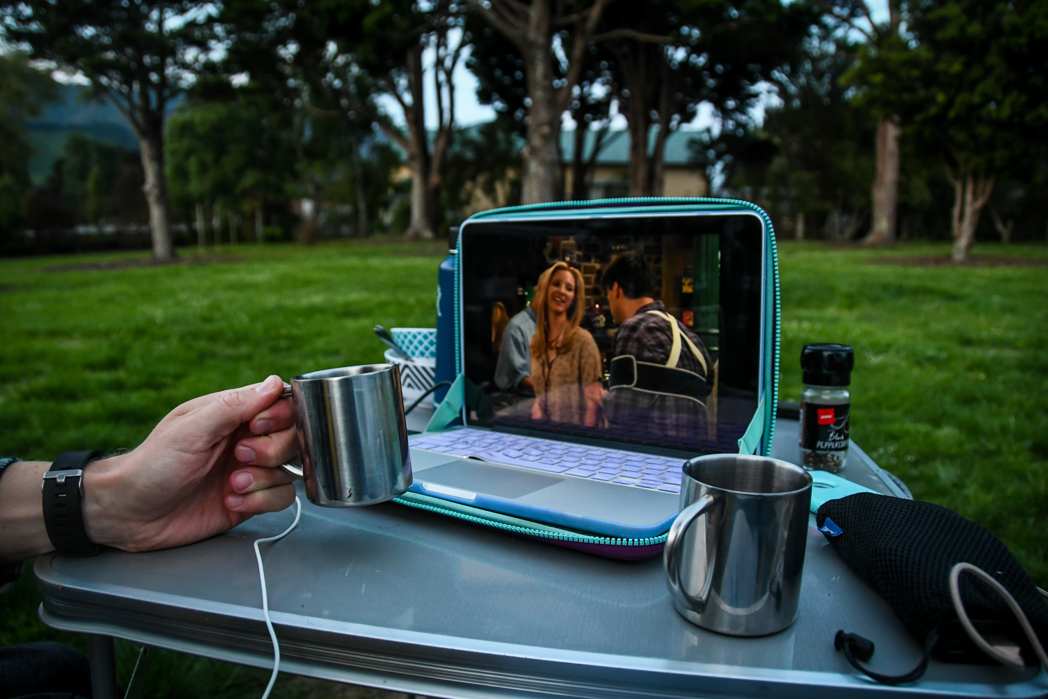 Pro Tip: If you want to watch any videos, be sure to download them to your laptop (or external hard drive) BEFORE your trip! It's nearly impossible to stream videos in most places (especially in the South Island).