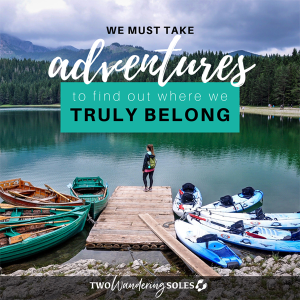 Inspiring Travel Quotes | Two Wandering Soles