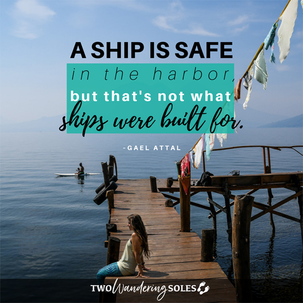 Inspiring Travel Quote by Gael Attal