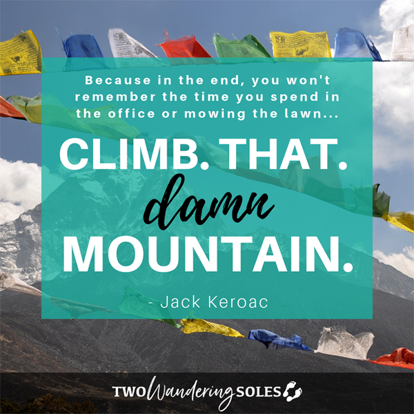 Inspiring Travel Quote by Jack Karoac
