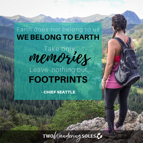 Inspiring Travel Quote by Chief Seattle