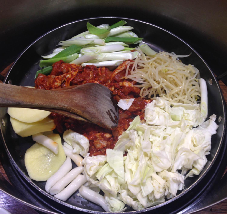 Dalk Galbi Korean Foods to Try