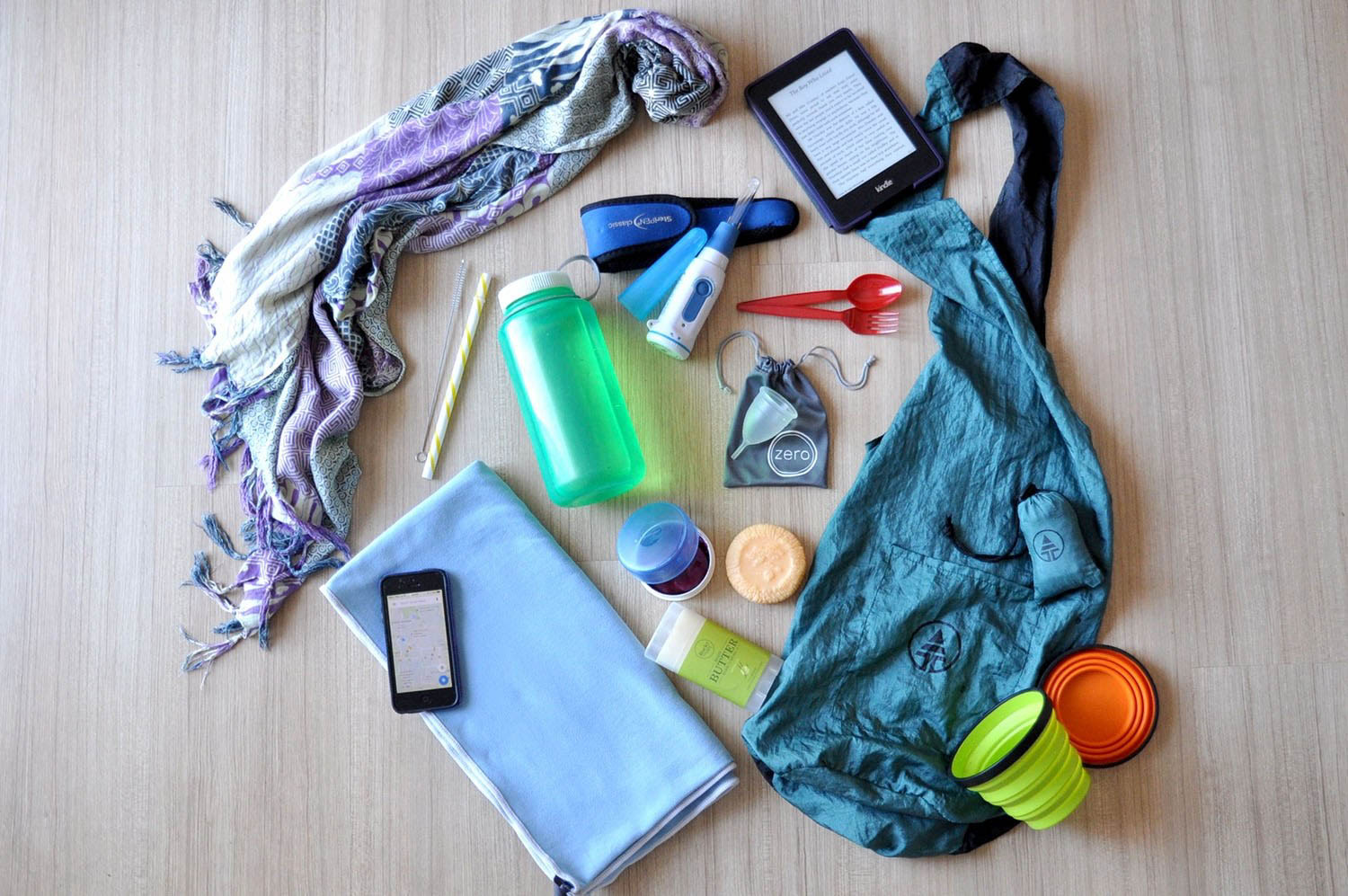 Eco friendly travel gear packing list