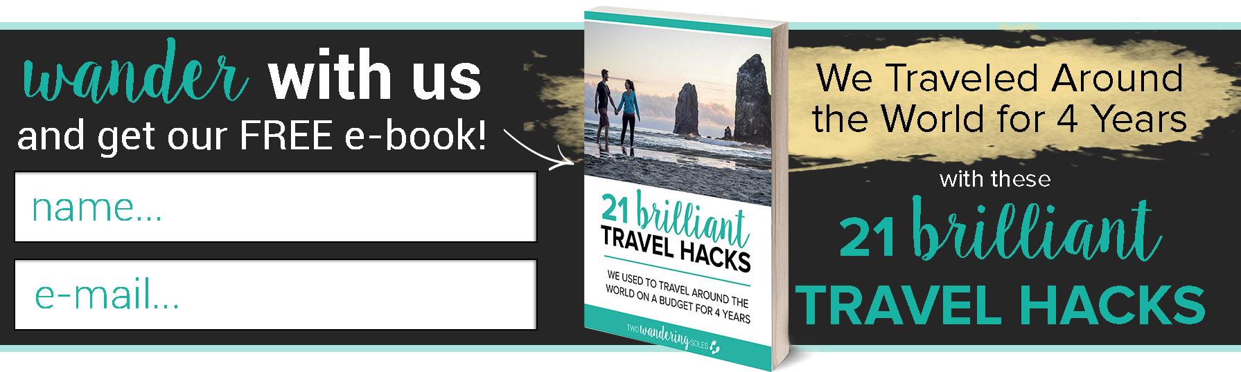 Brilliant Travel Hacks e-Book