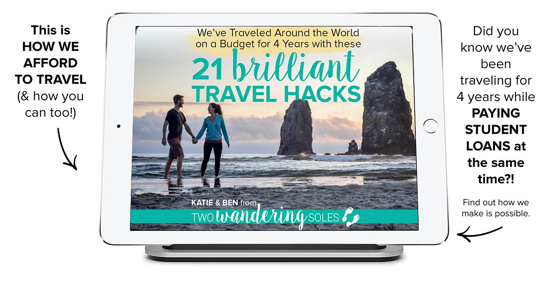21 Brilliant Travel Hacks E-Book