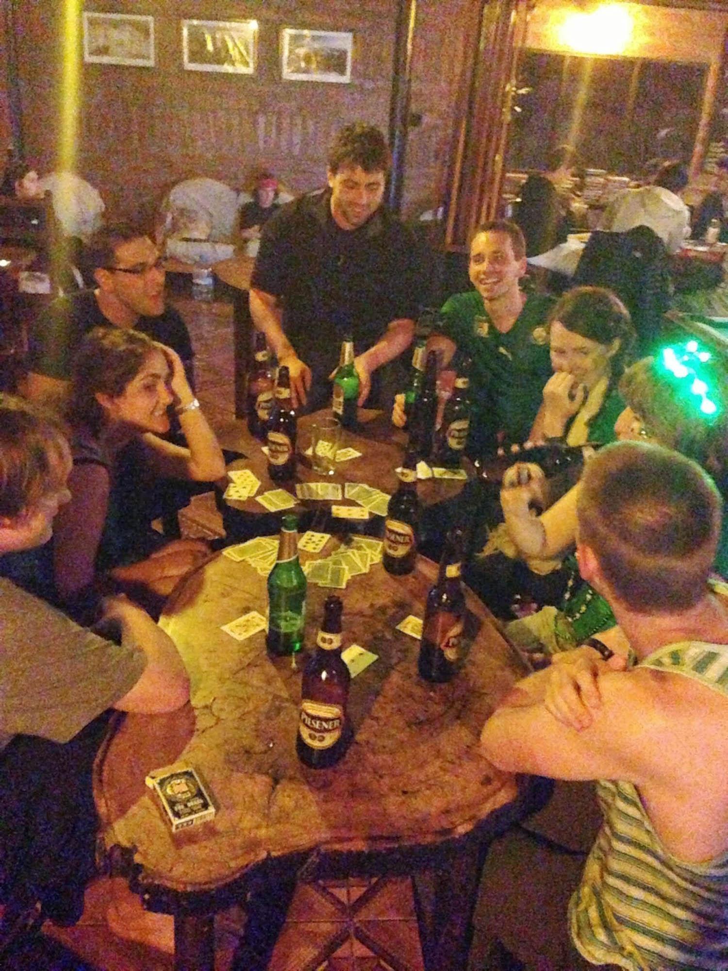 Drinking Games Banos Ecuador
