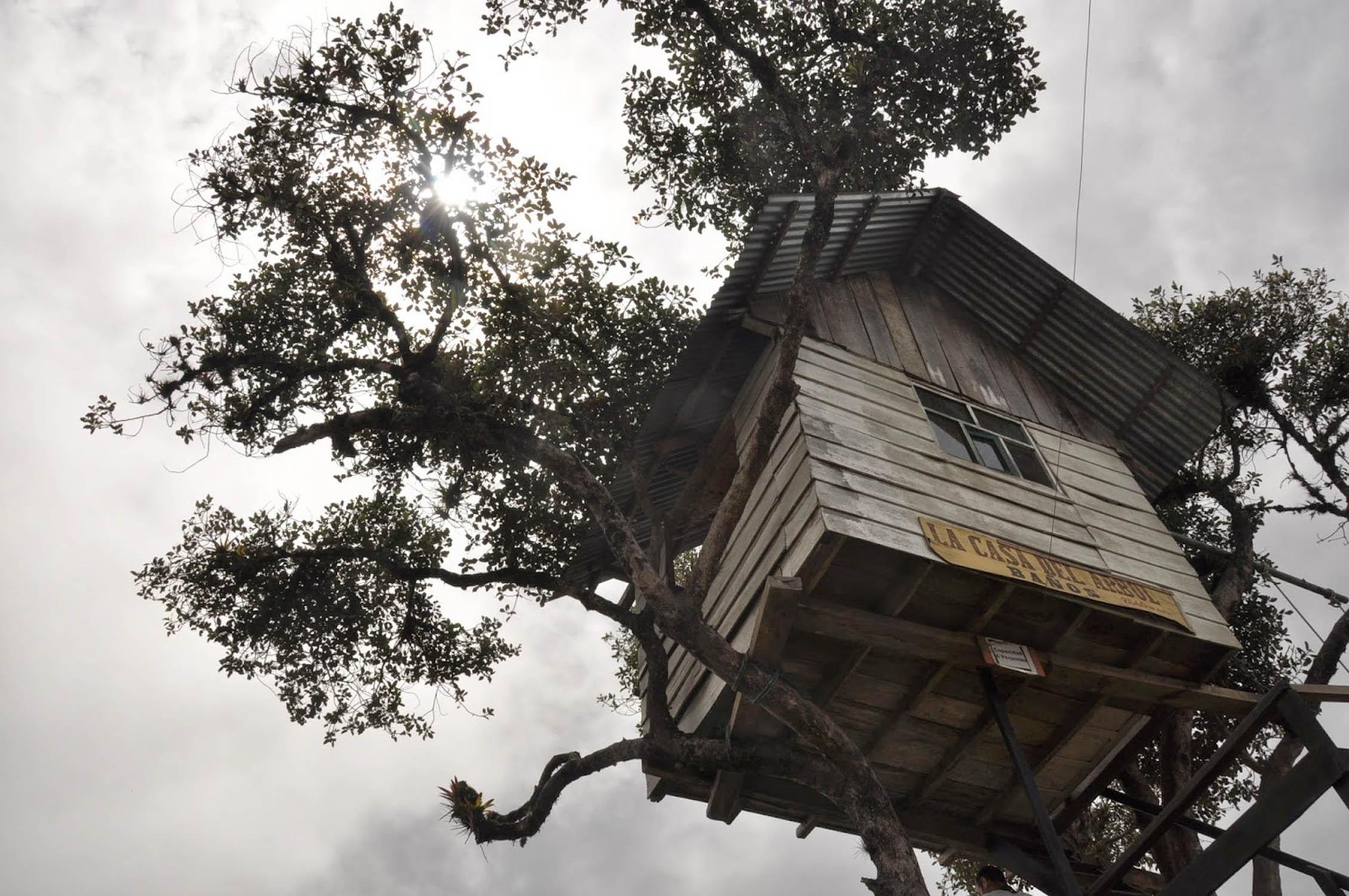 Casa Del Arbol Banos Ecuador